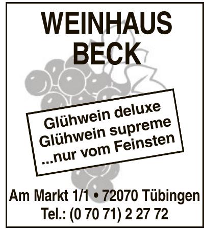 Weinhaus Beck