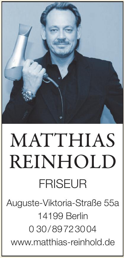 Matthias Reinhold Friseur