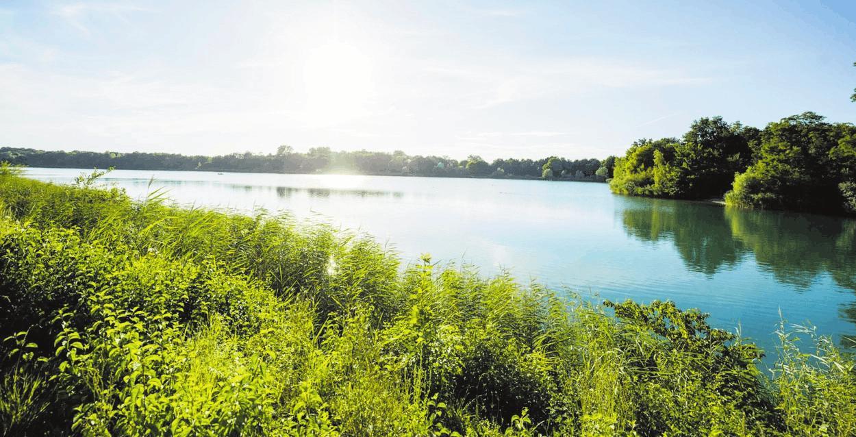 Bei Badegästen aus Neuhofen und der Umgebung beliebt: die Schlicht. FOTO: NEUHOFEN/FREI