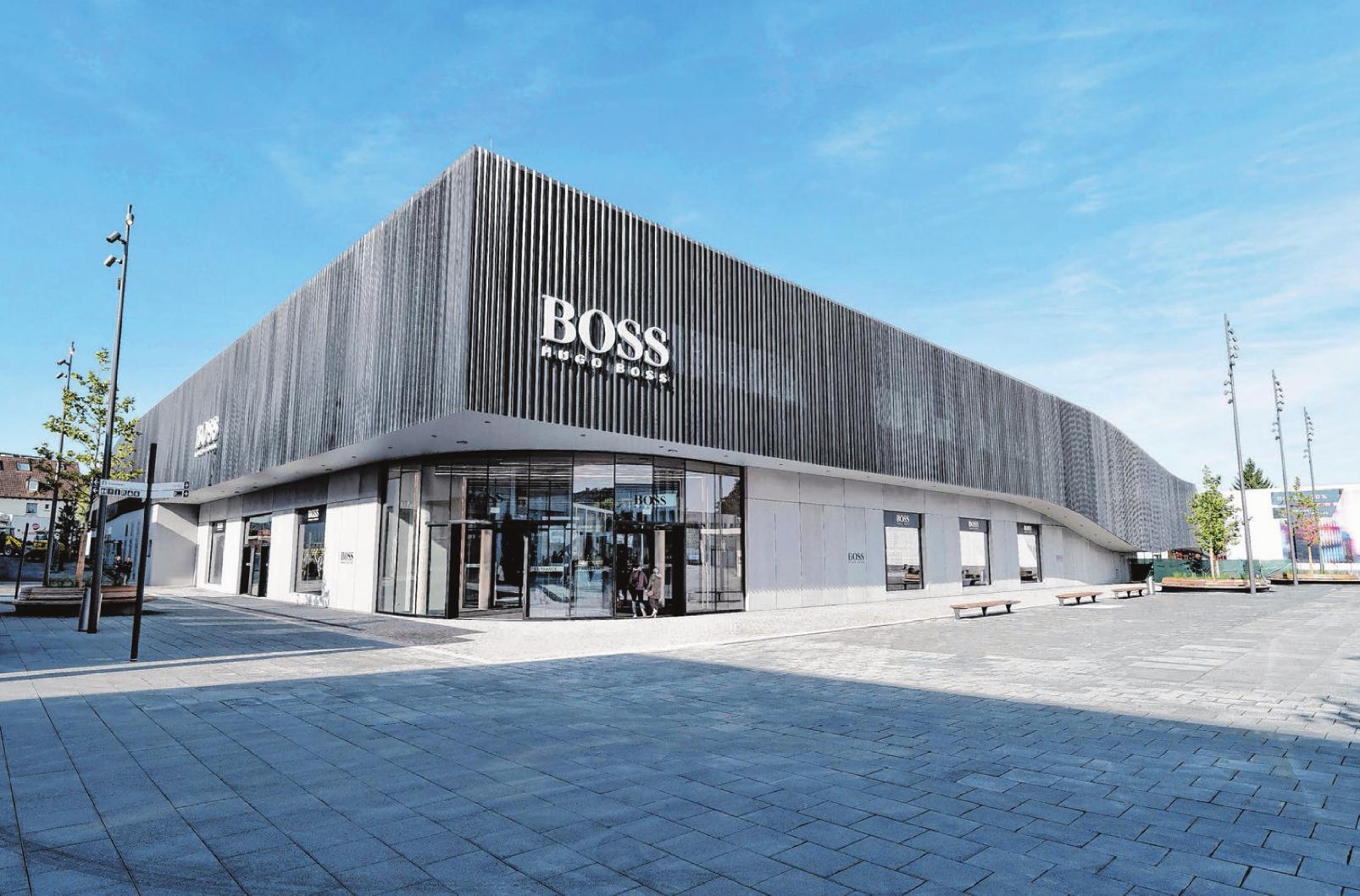 stor rabatt på grossist många fashionabla Eröffnung: Einkaufszentrum Boss-Outlet in Outletcity Metzingen