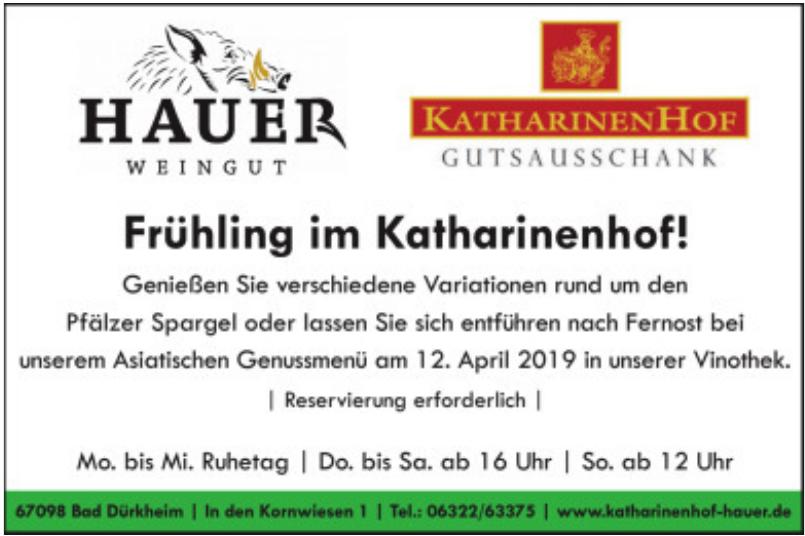 Katharinen Hof - Hauer