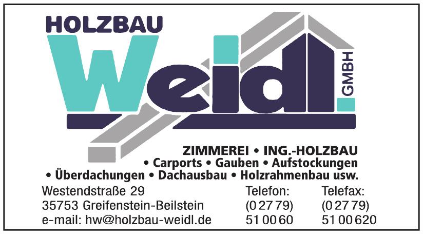 Holzbau Weidl GmbH