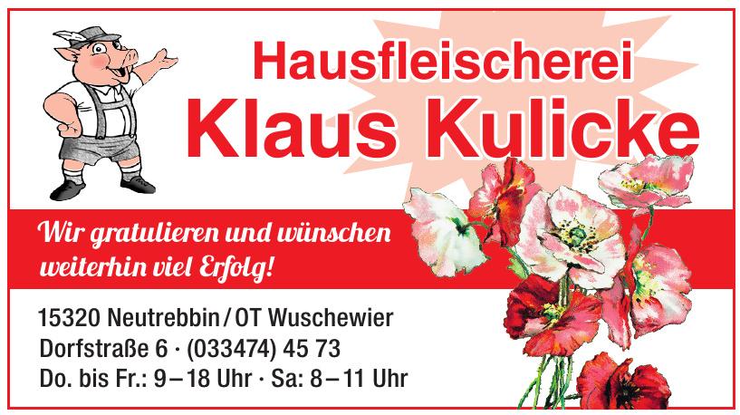Hausfleischerei Klaus Kulicke