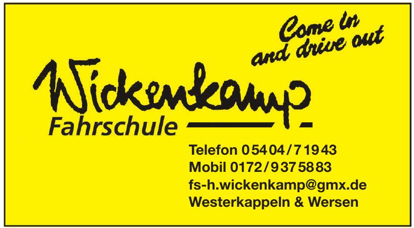 Wickenkamp Fahrschule