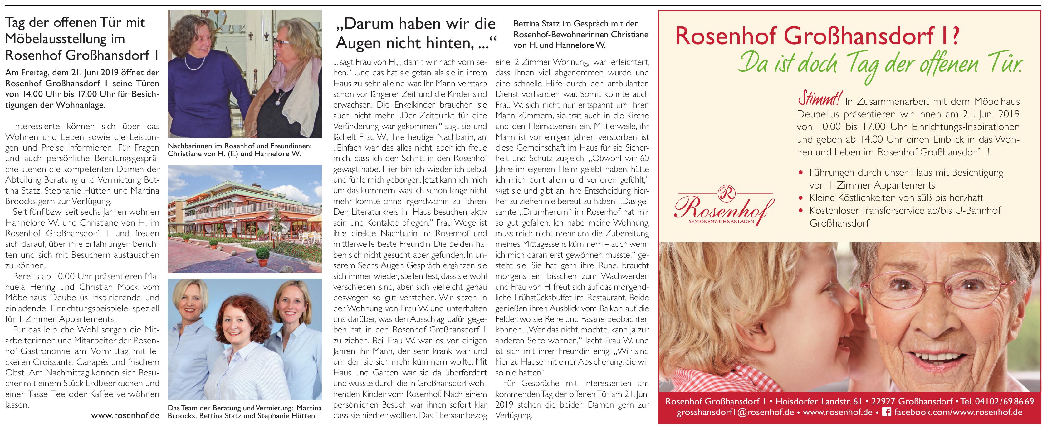 Rosenhof Großhansdorf 1