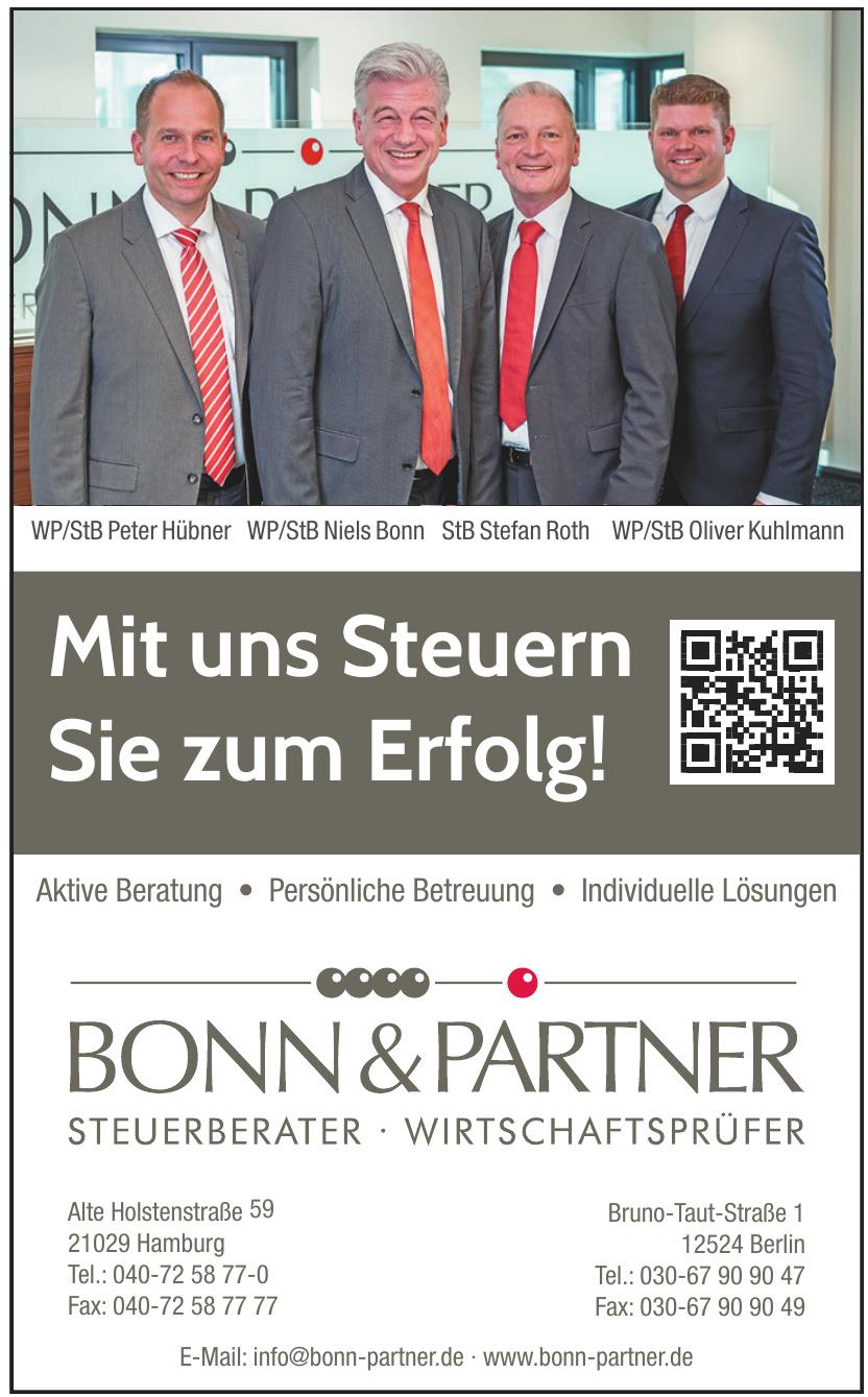 Bonn & Partner Steuerberater, Wirtschaftsprüfer