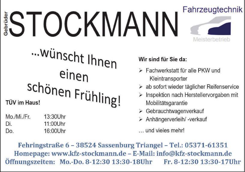 Fahrzeugetechnik Stockmann