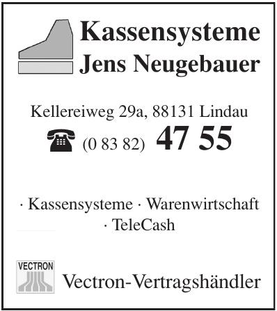 Kassensysteme Jens Neugebauer