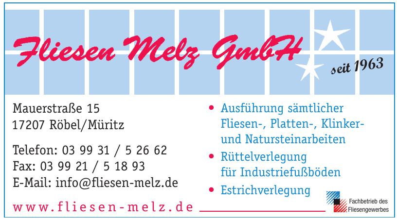 Fliesen Melz GmbH