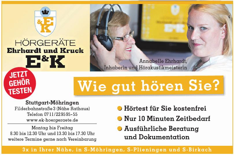 Hörgeräte Ehrhardt und Kruck E & K