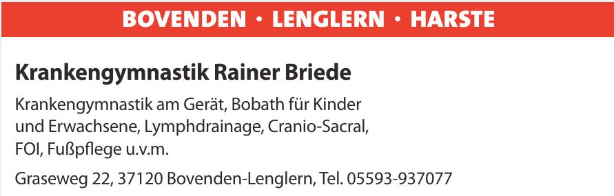 Krankengymnastik Rainer Briede
