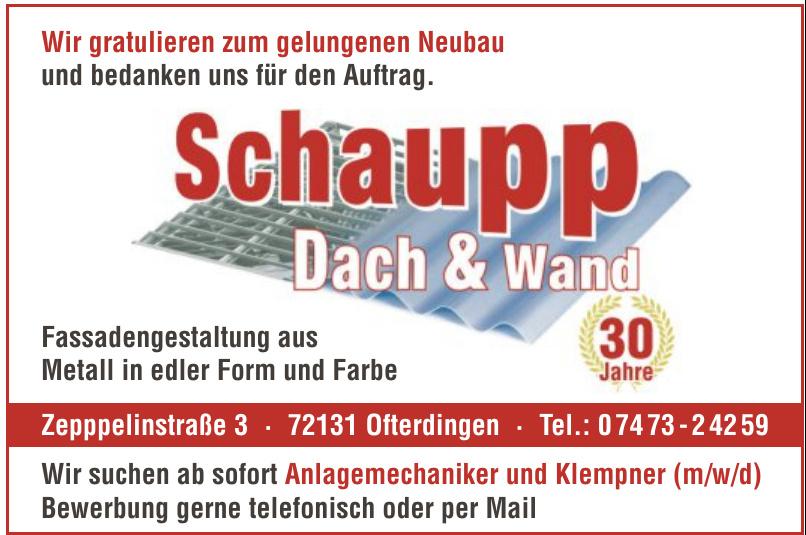 Schaupp Dach & Wand