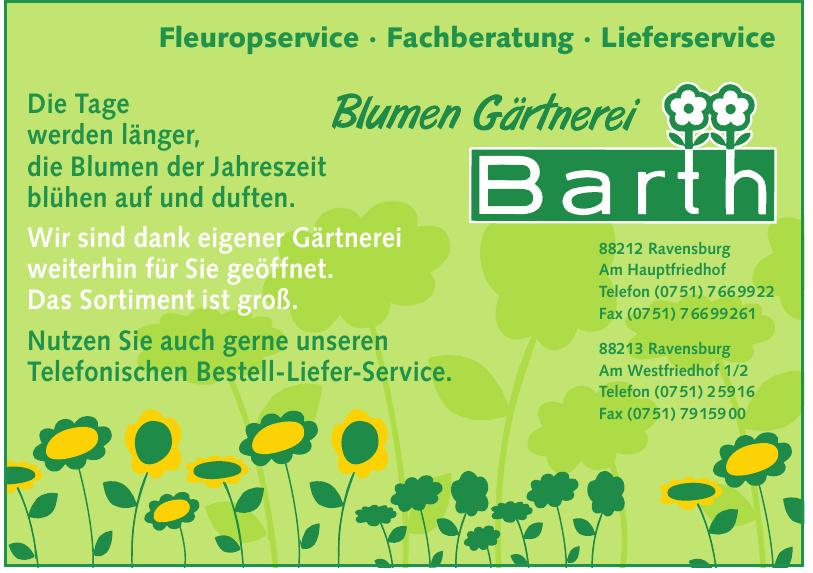 Blumen - Gärtnerei Barth