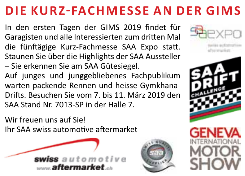 SAA Swiss Automotive Aftermarket