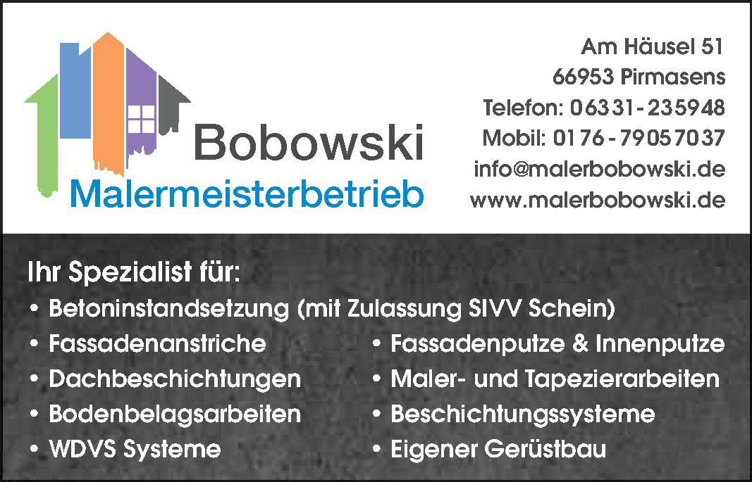 Bobowski Malermeisterbetrieb