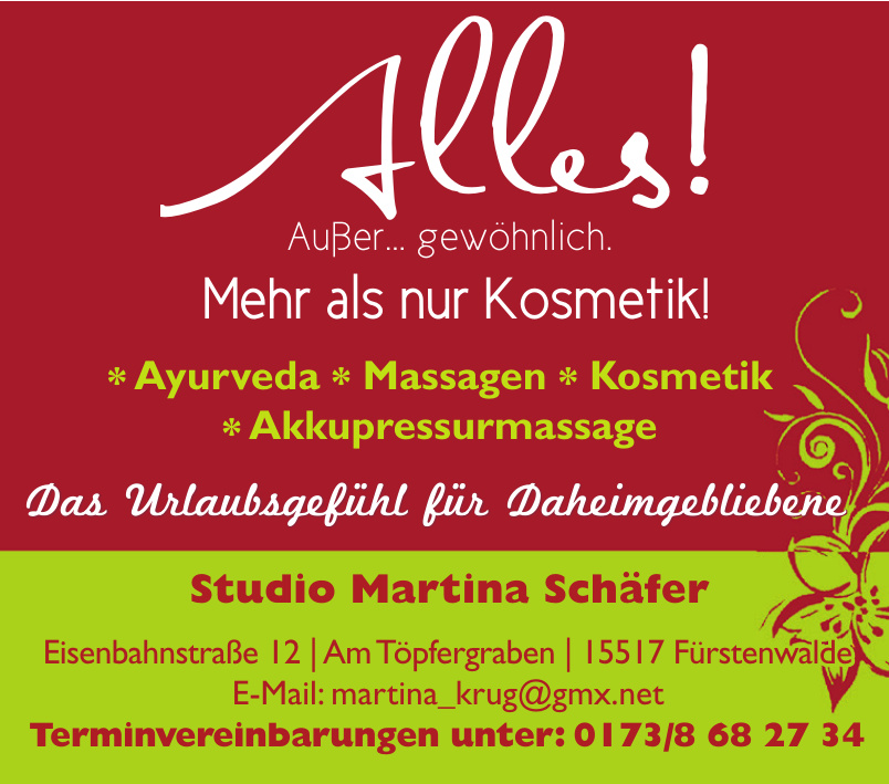 Studio Martina Schäfer