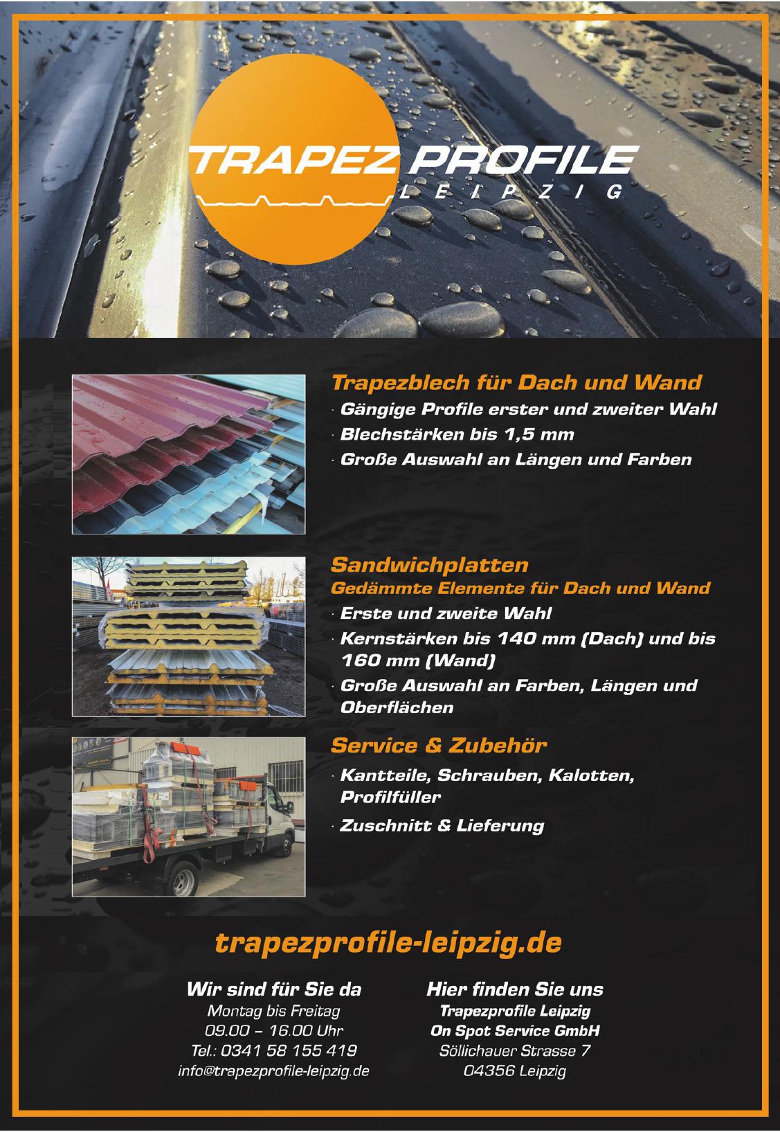 Trapez Profile Leipzig
