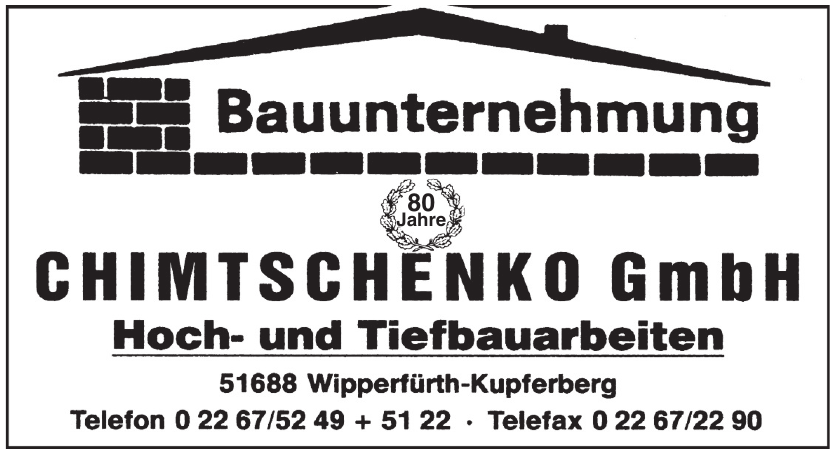 Chimtschenko GmbH