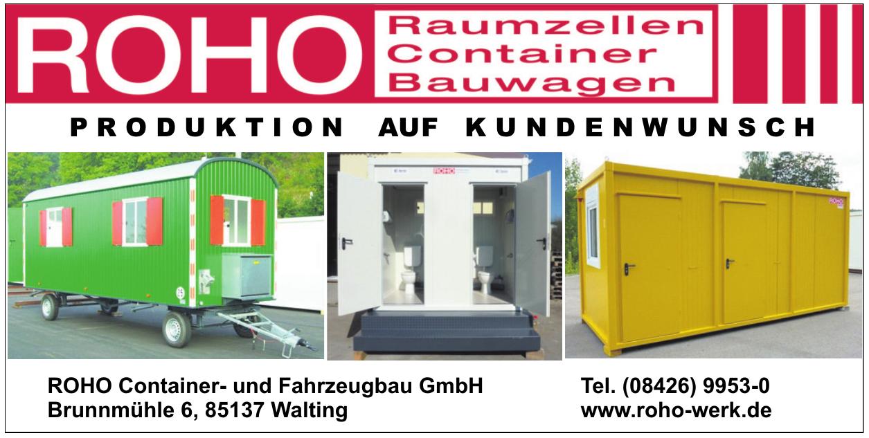 ROHO Container- und Fahrzeugbau GmbH