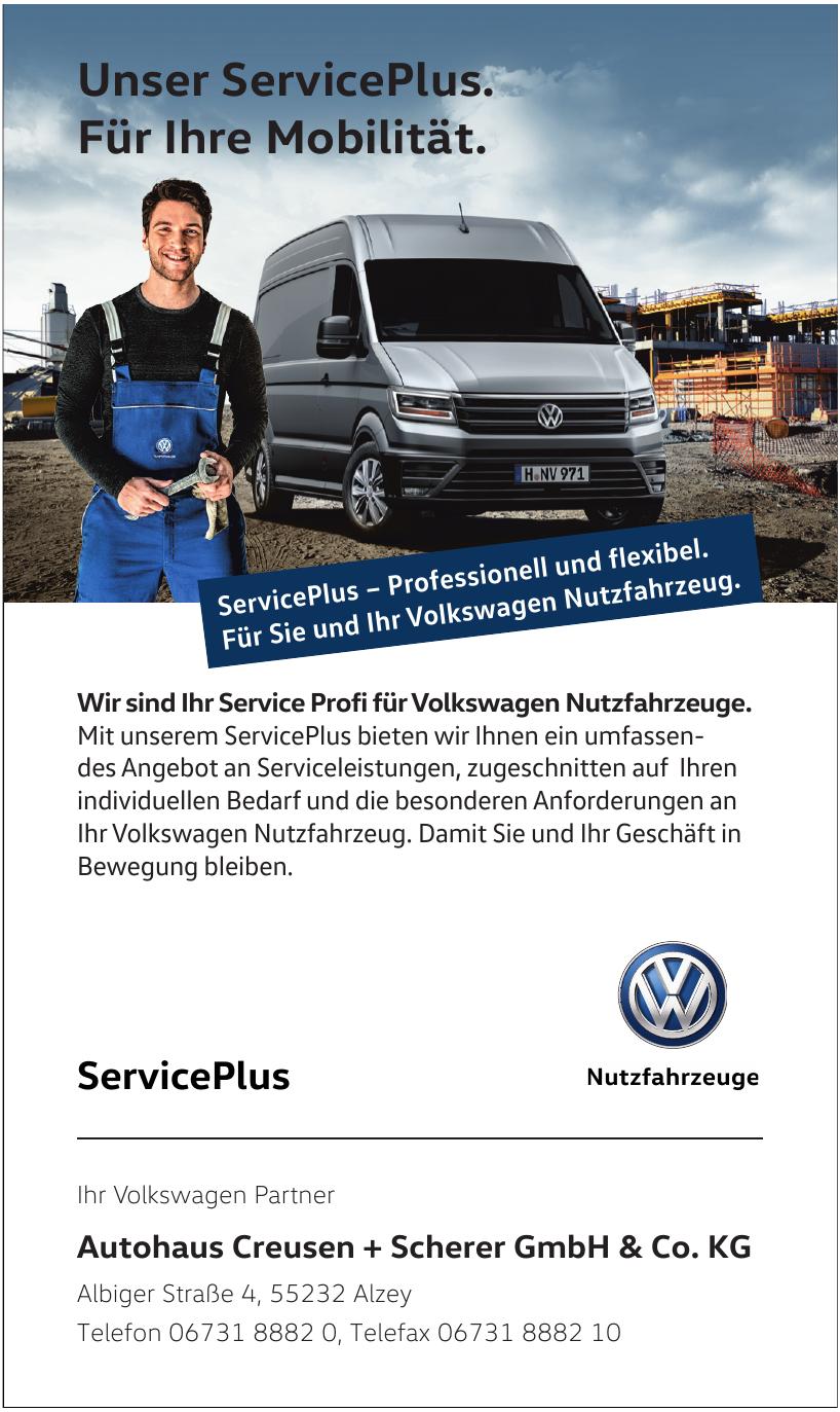 Autohaus Creusen + Scherer GmbH & Co. KG