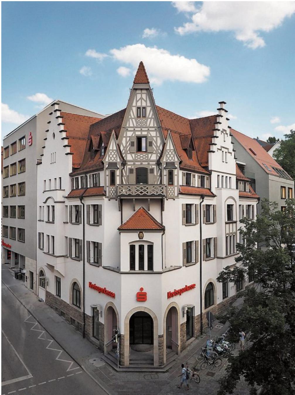 Die Kreissparkasse Tübingen am Lustnauer Tor