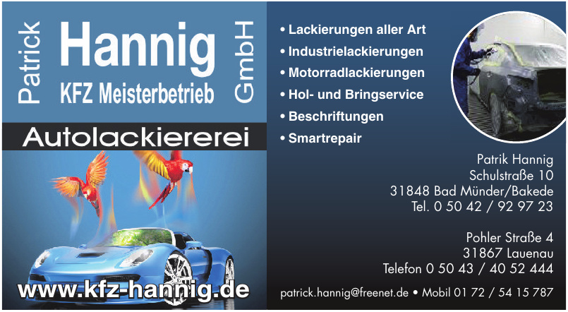 Patrick Hannig GmbH
