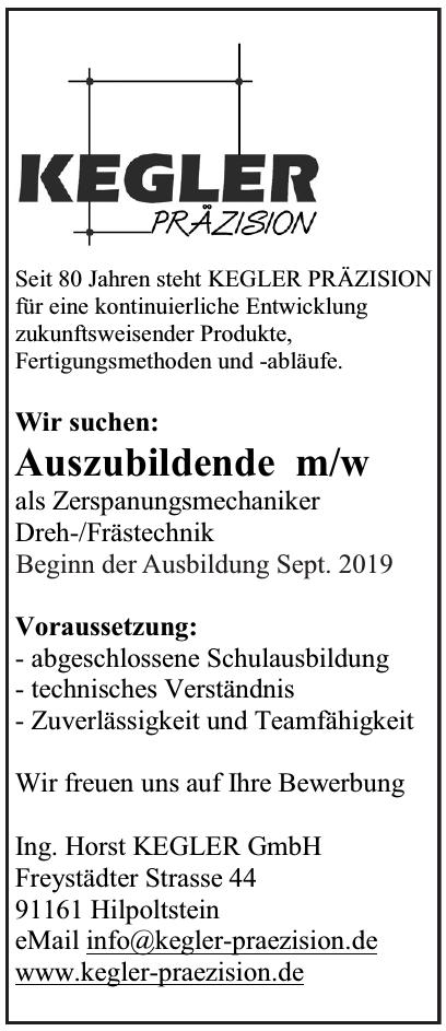 Kegler Präzision - Ing. Horst Kegler GmbH