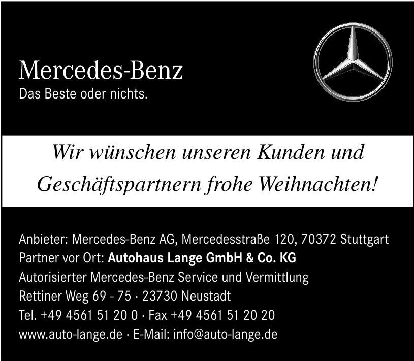 Autohaus Lange GmbH & Co. KG