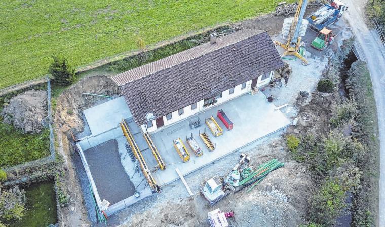 Das 3000 m2 große Grundstück in der Laubeggengasse soll neben den zwei Wohnhäusern über viel Grünfläche verfügen. FOTO: IVG