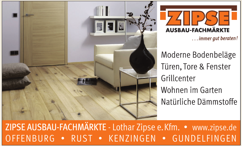 Zipse Ausbaufachmarkt Lothar Zipse e.Kfm.
