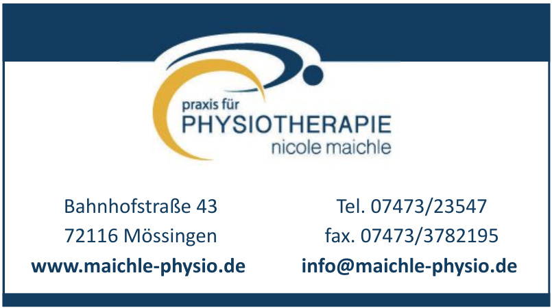 Physiotherapie Nicole Maichle