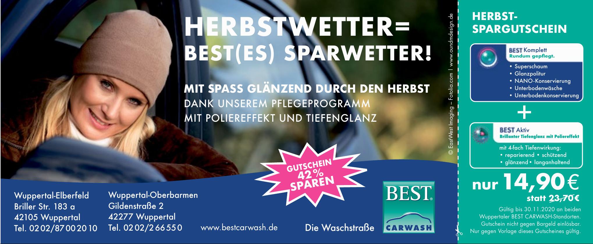Best Carwasch - Wuppertal-Elberfeld