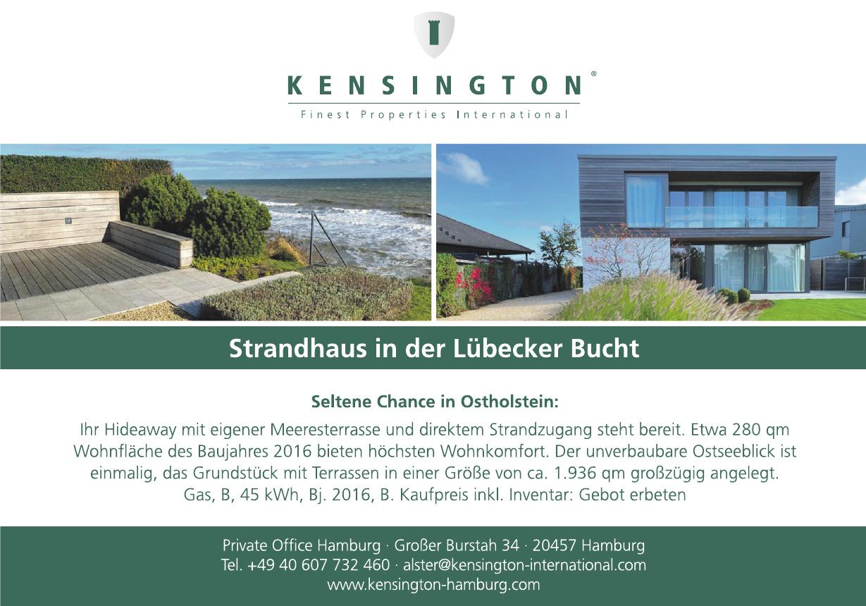 KENSINGTON Private Office Hamburg-Alster