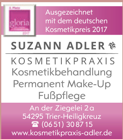 Suzann Adler Kosmetikpraxis