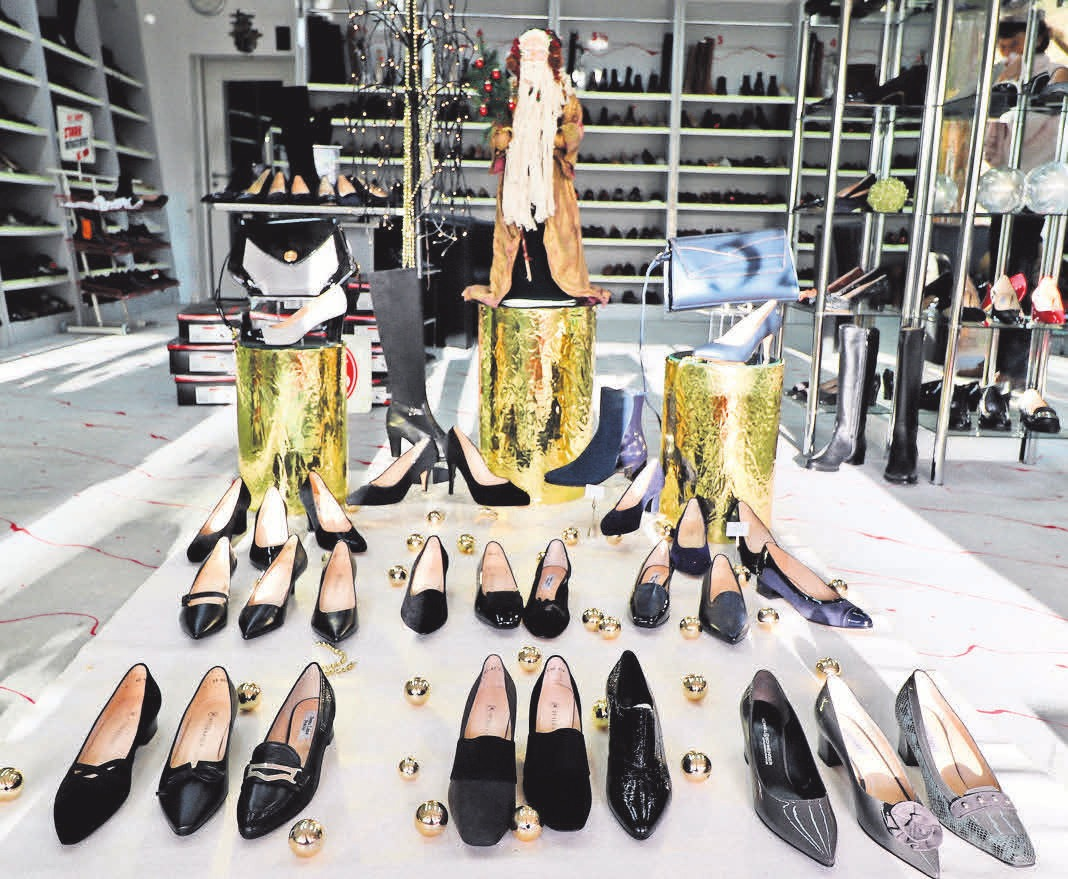 Im Schuhgeschäft von Frajer finden die Kunden jetzt eine traumhafte Auswahl an Pumps.
