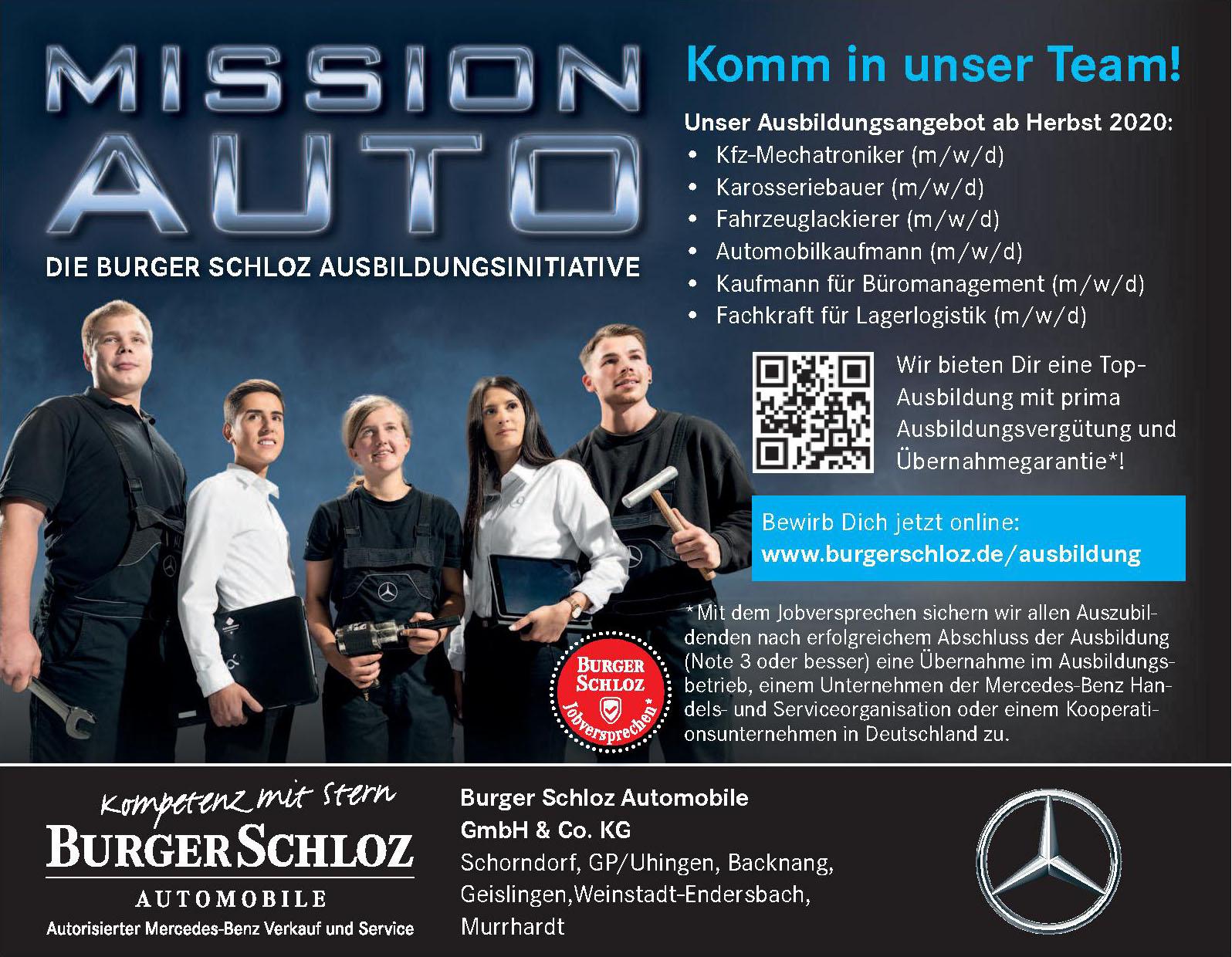 Burger Schloz Automobile GmbH & Co. KG