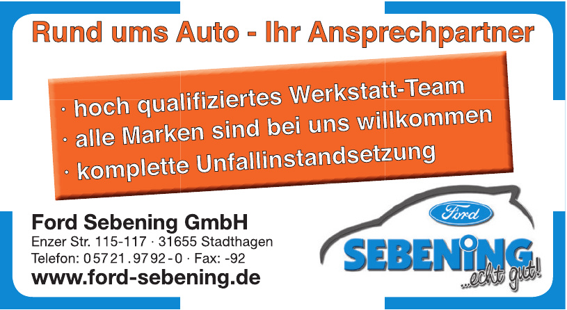 Ford Sebening GmbH