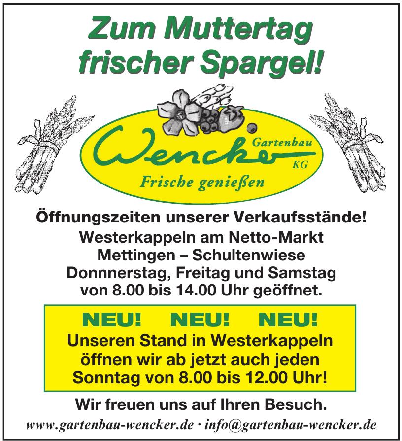 Wencker Gartenbau KG