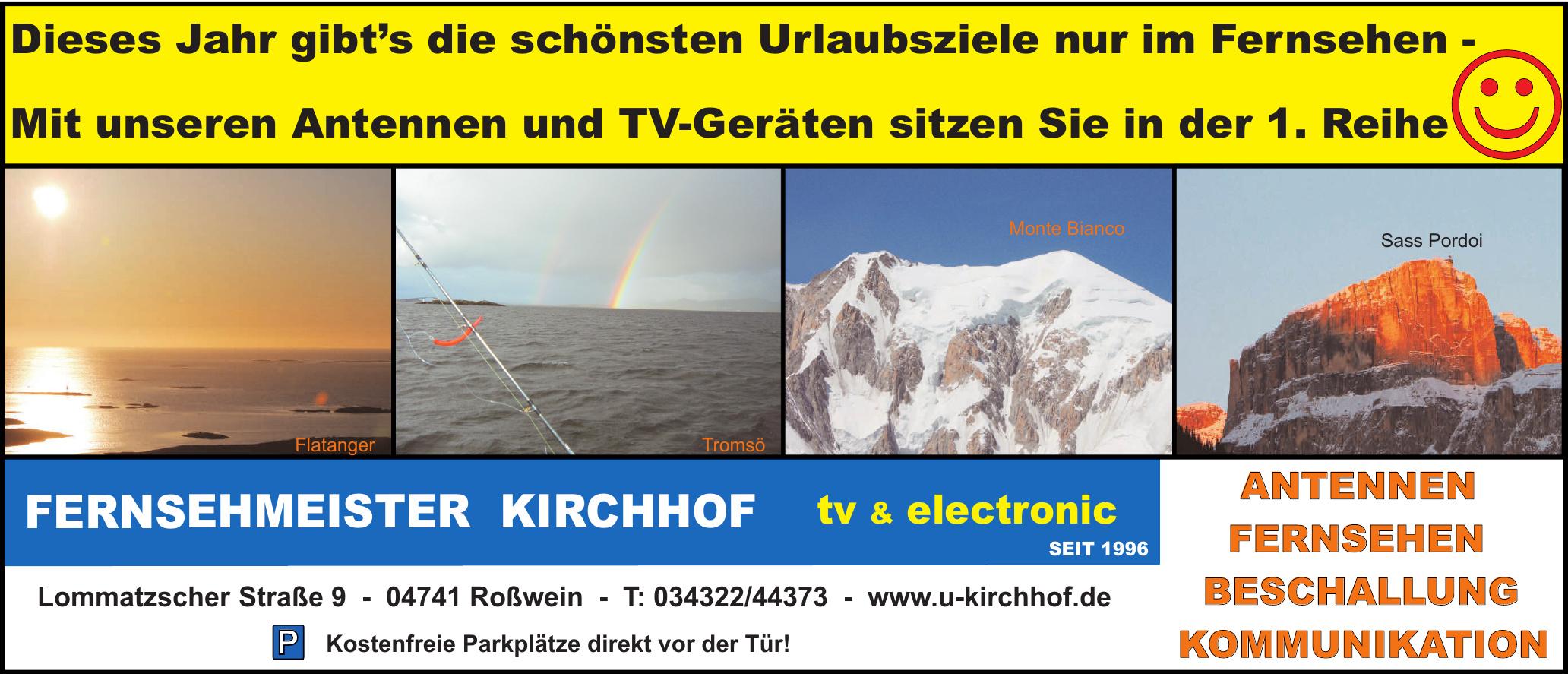 Fernsehmeister Kirchhof tv & electronnic