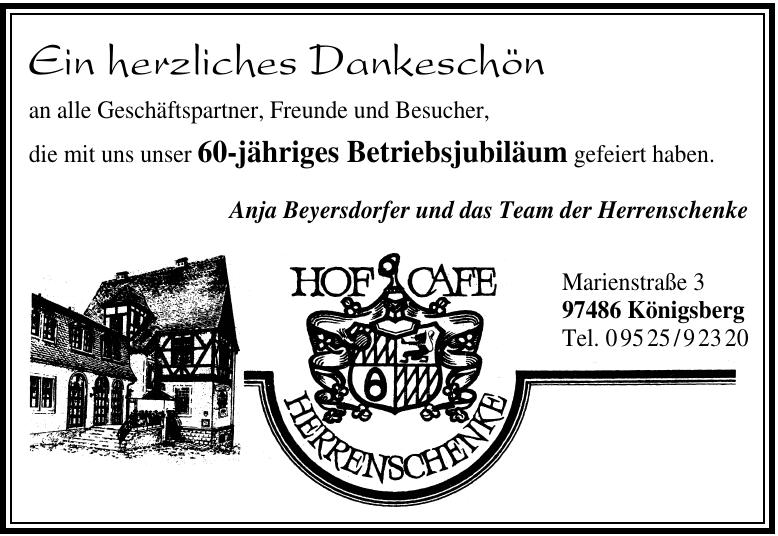 Herrenschenke ~ Café Eiring