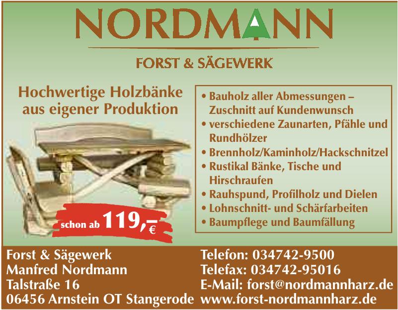 Manfred Nordmann Forst & Sägewerk