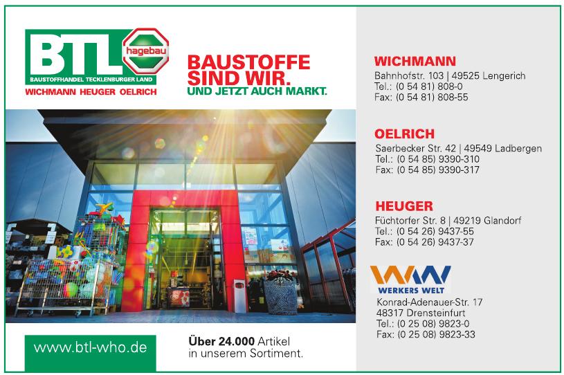 Baustoffhandel Tecklenburger Land GmbH & Co. KG