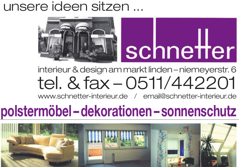 Schnetter Interieur & Design