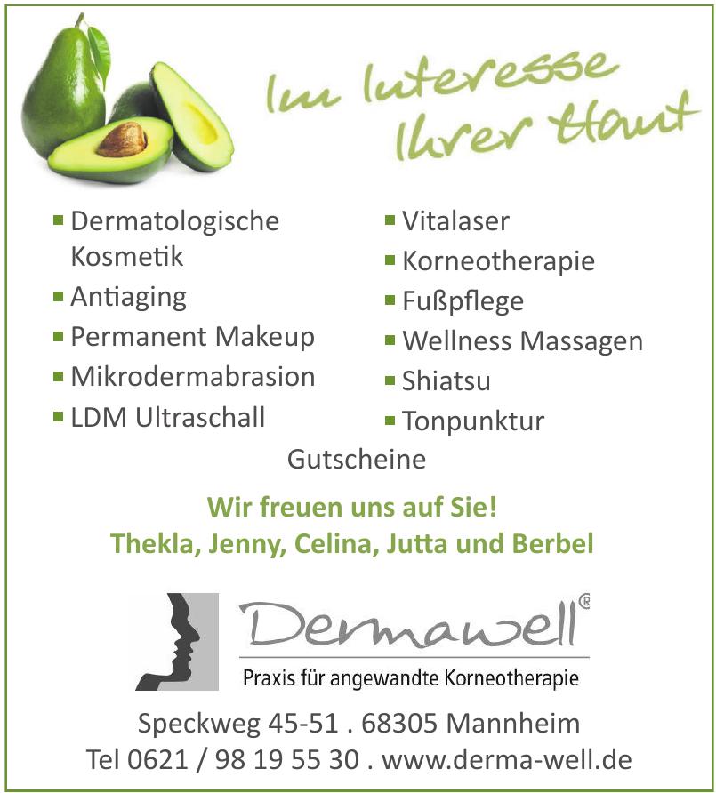 Dermawell Praxis für angewandte Korneotherapie