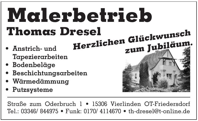 Malerbetrieb Thomas Dresel