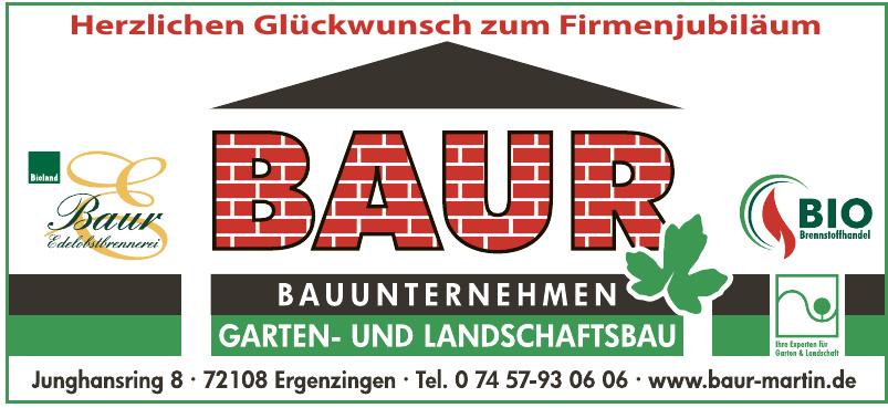 Baur Bauunternehmen Garten- und Landschaftsbau