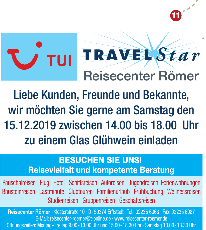 Tui Travel Star Reisecenter Römer