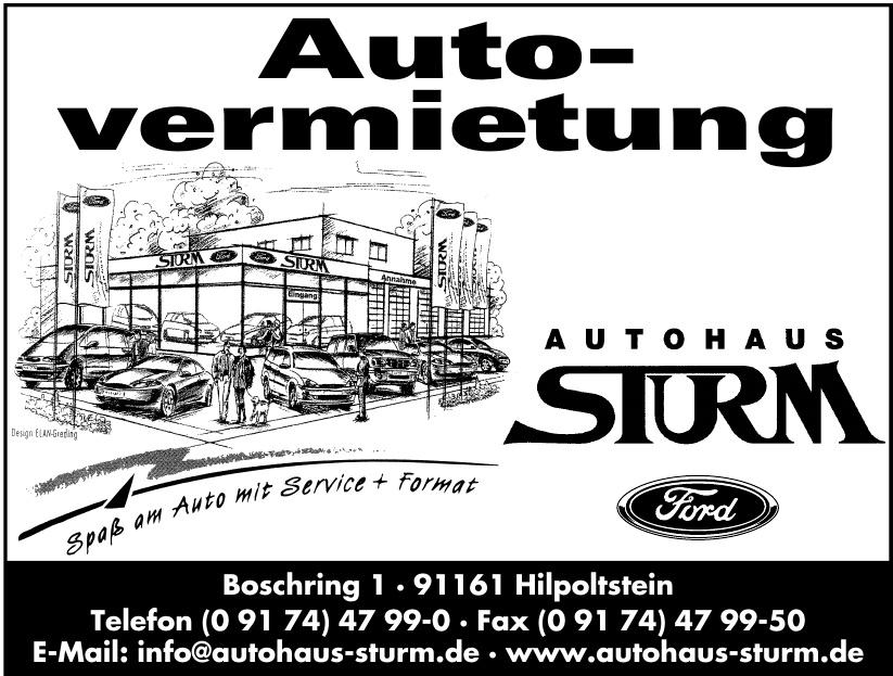 Autohaus Sturm