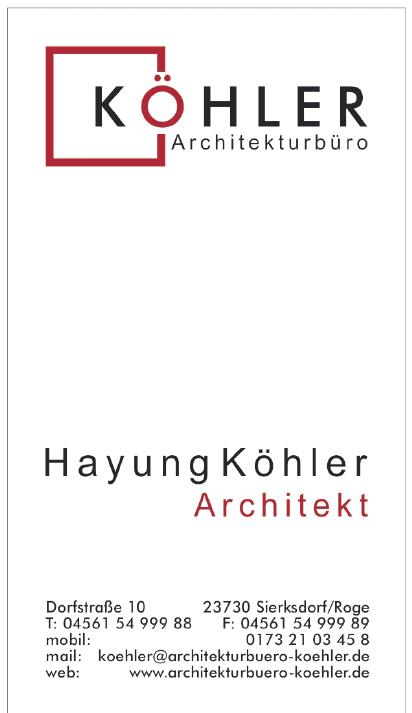 Köhler Architekturbüro