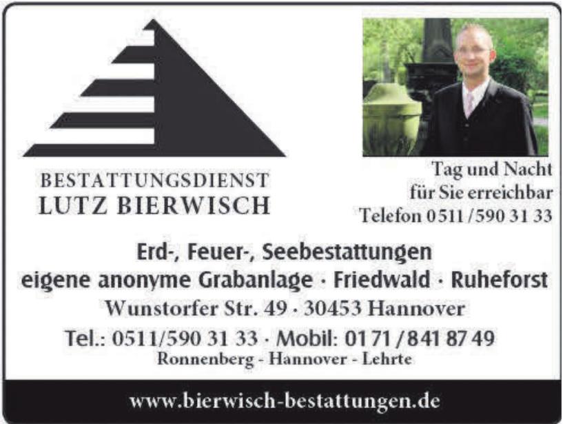 Bestattungsdienst Lutz Bierwisch